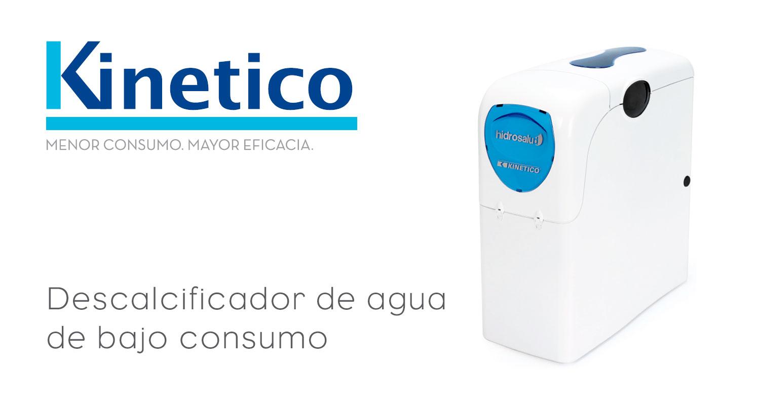 Kinetico - Descalcificadores volumetricos de bajo consumo