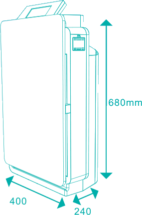 Optimal 360 - Dimensiones