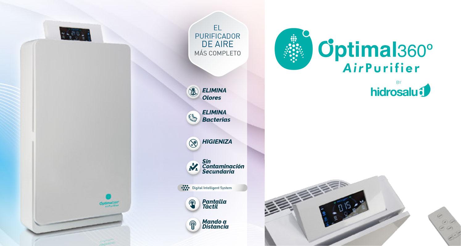 Optimal 360 - Purificador de aire generador de ozono